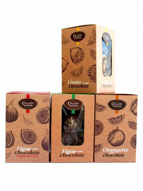 Pack-Frutas com Chocolate