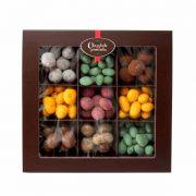 Sortido de Chocolate com Frutos secos e fruta
