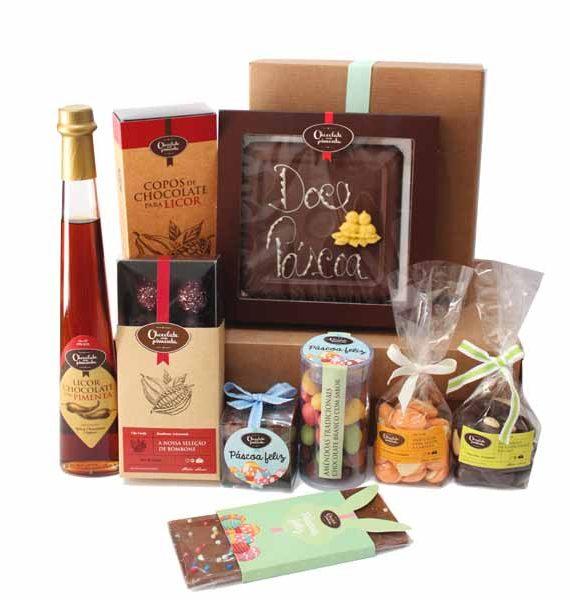Cabaz de Chocolates Artesanais especial Páscoa