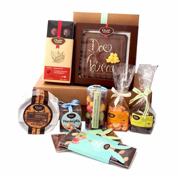 Cabaz de Chocolates Artesanais especial Páscoa 2021